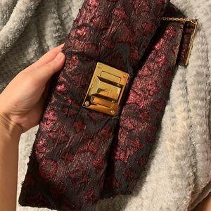 Louis Vuitton Silk Clutch
